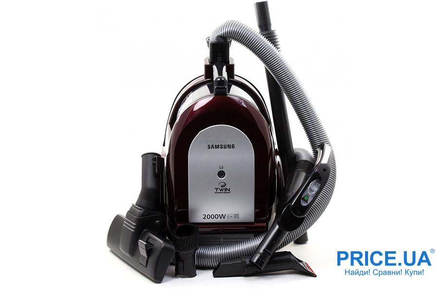 Популярные пылесосы: топ-5. Samsung VC-C6590