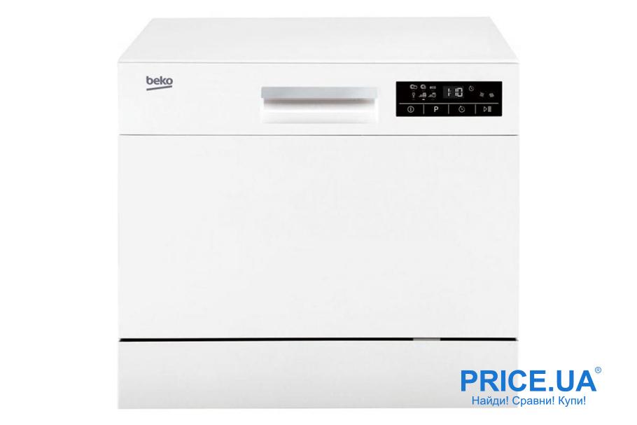 Топ-10 практичных и востребованных посудомойных машин. BEKO DTC 36610 W 0
