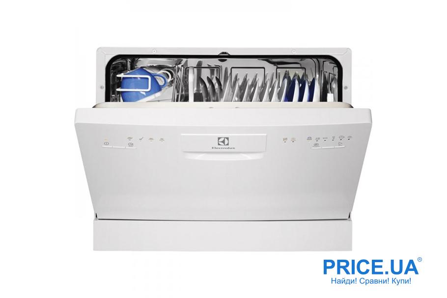 Топ-10 практичных и востребованных посудомойных машин. ELECTROLUX ESF 2200 DW