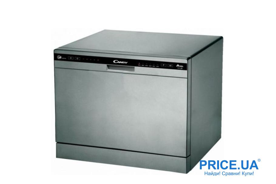Топ-10 практичных и востребованных посудомойных машин. Candy CDCP 6/ES-07