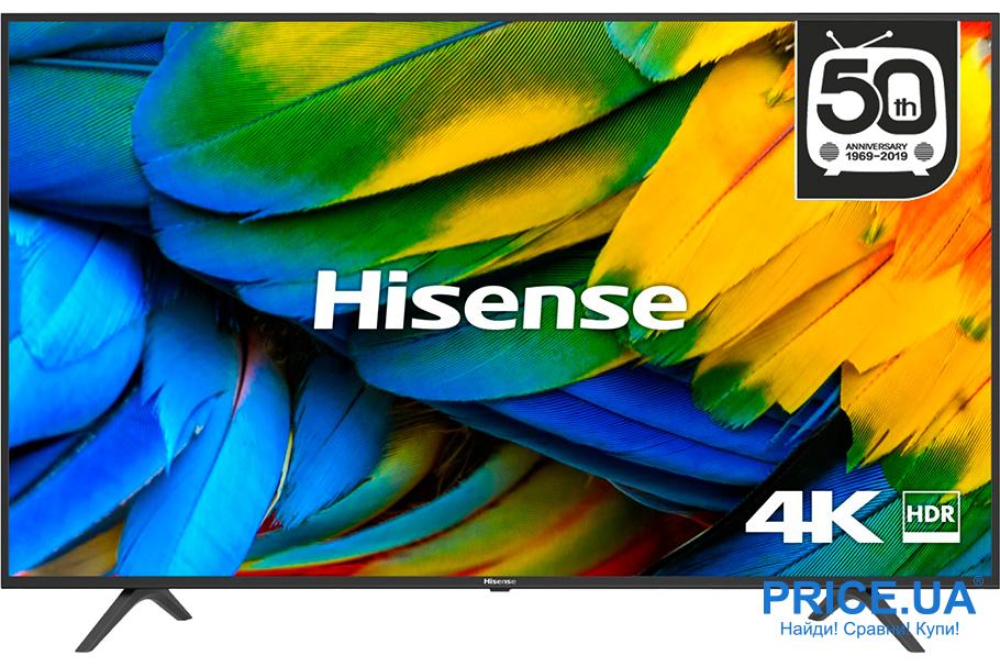 Популярные телевизоры по версии Price.ua: топ-10. Hisense H50B7100