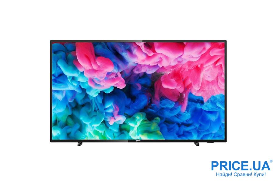 Популярные телевизоры по версии Price.ua: топ-10. Philips 50PUS6503