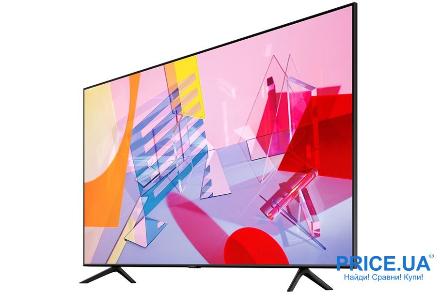 Популярные телевизоры по версии Price.ua: топ-10.Samsung QE-43Q60T