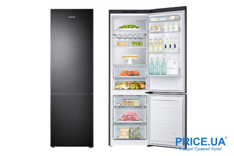 Топ-5 оптимальных холодильников Samsung. Samsung RT-53 K6330EF