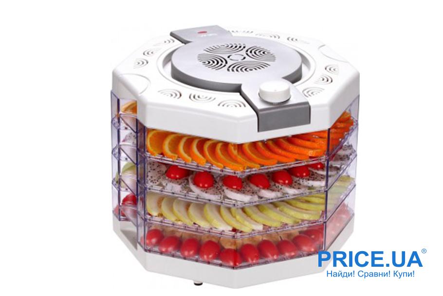 Лучшие 5 моделей электросушилок овощей до 1500 грн. VINIS VFD-410