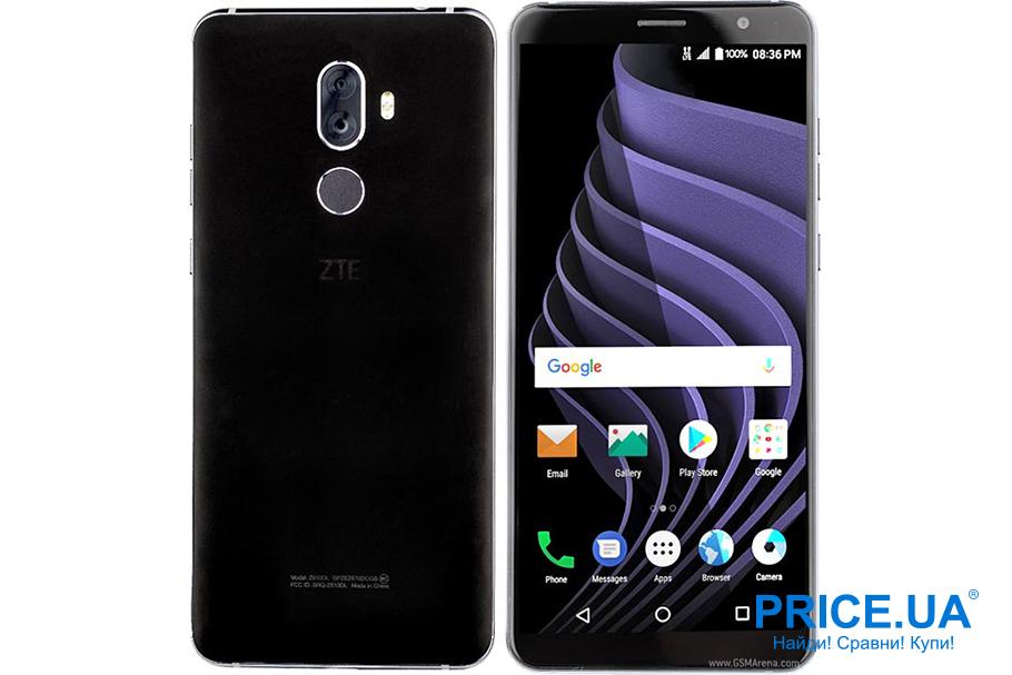 Топ-5 самых автономных смартфонов. ZTE Blade Max View