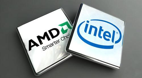 AMD и Intel - производителди процессоров для ноутбуков