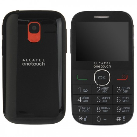 Alcatel One Touch 2004C лучший бабушкофон с расширенным функционалом