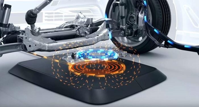 BMW беспроводная зарядка