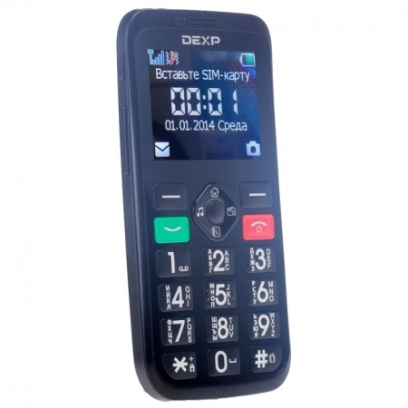 DEXP LARUS S2 - отличный мобильный для пожилых людей