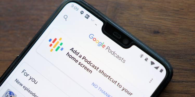 Google приложение для подкастов