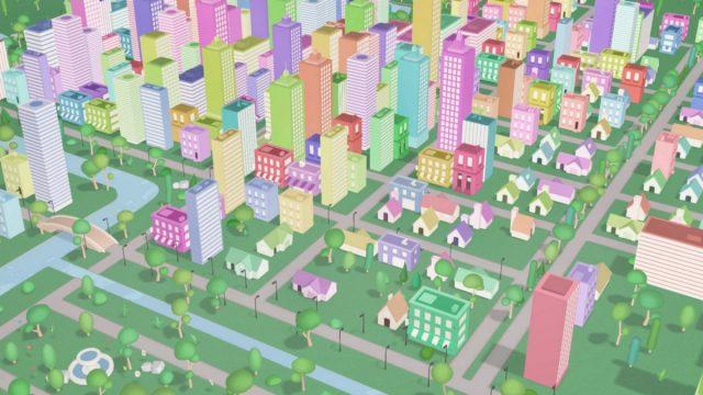 Google виртуальный город