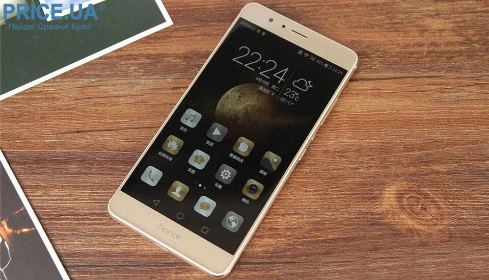 Huawei Honor V8 - фаблет среднего класса с QHD экраном
