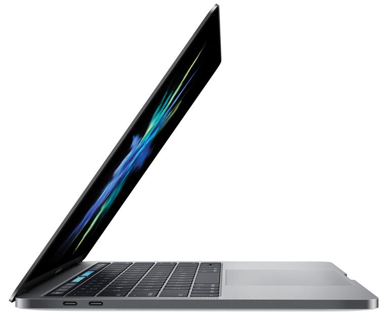 MacBook Pro 2016 сбоку