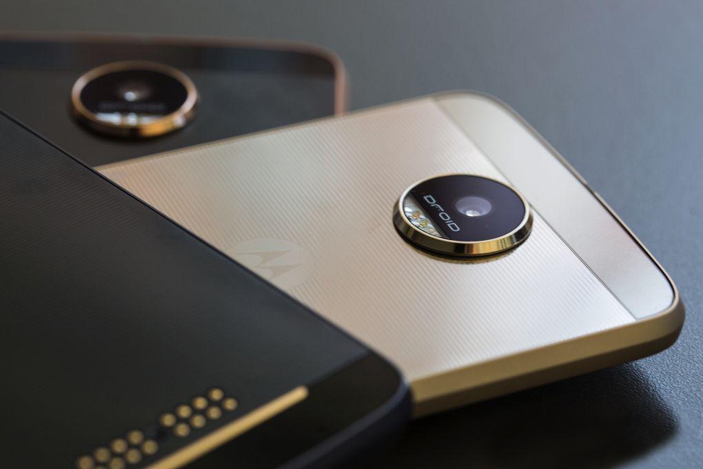 Lenovo Moto Z с 13 Мп и Moto Z Force - c 21 Мп основной камерой
