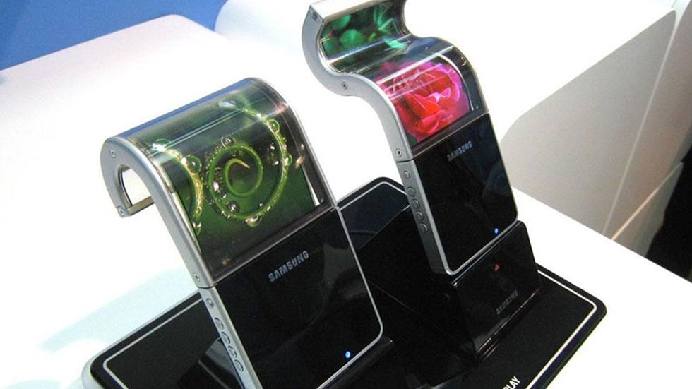 Samsung гибкие экраны
