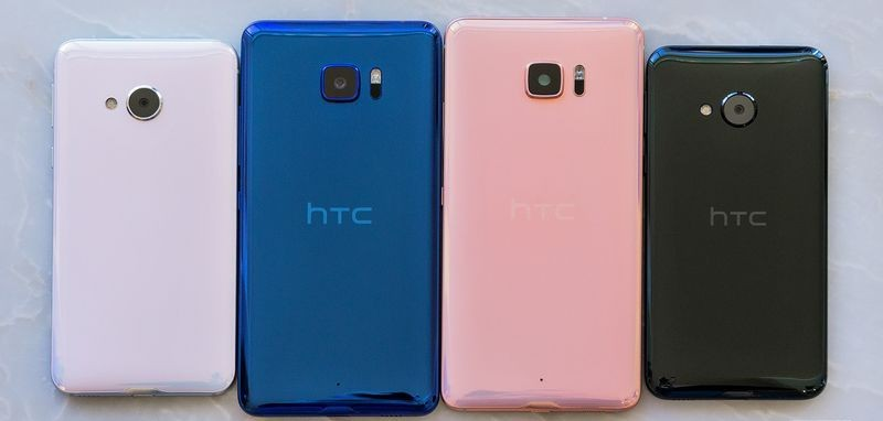 HTC U Ultra и U Play фото сзади