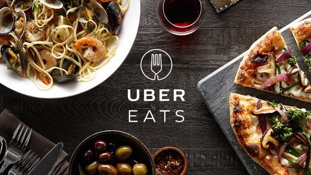Uber доставка еды