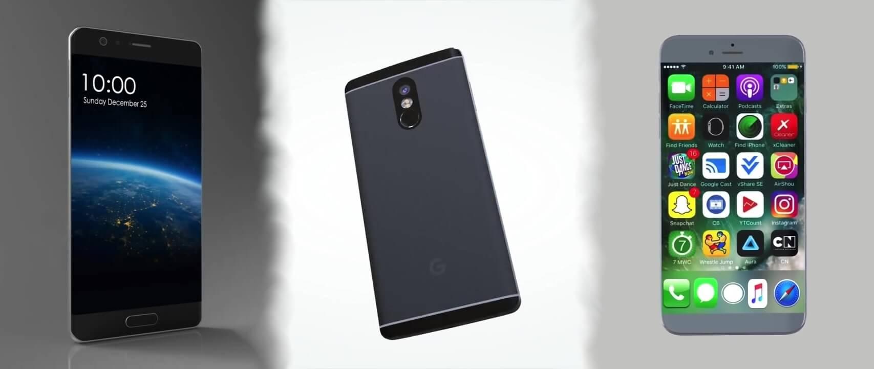 a926efec923bf Модели смартфонов 2017 года: что нас ждёт? | PriceMedia