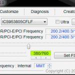 SetFSB - программа, позволяющая улучшить процессор на ноутбуке