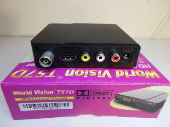 DVB-T2 тюнер с HDMI позволяет использовать монитор как телевизор