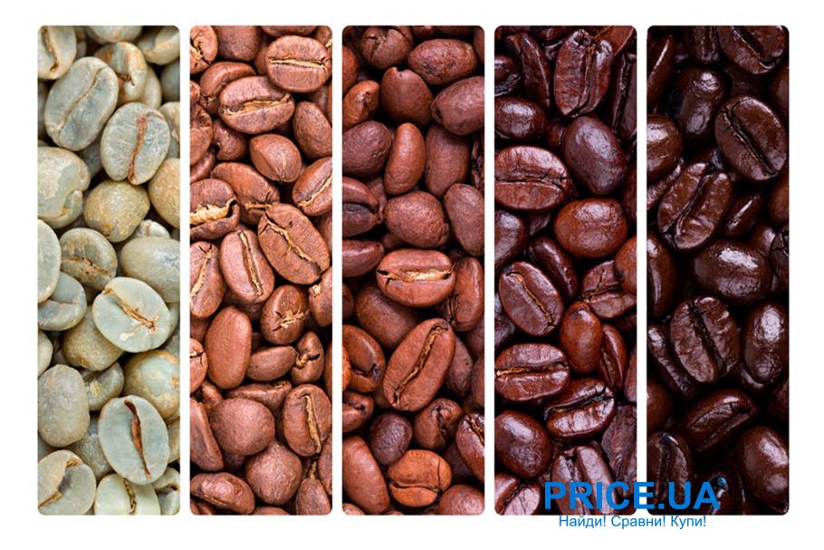 Как выбирать вкусный кофе - степени обжарки кофе