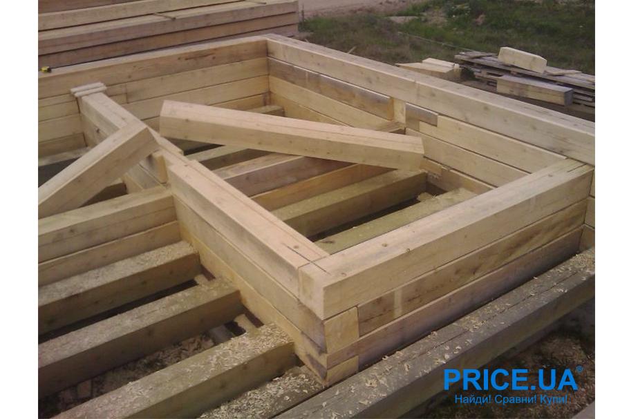 Руководство: строим баню из бруса сами