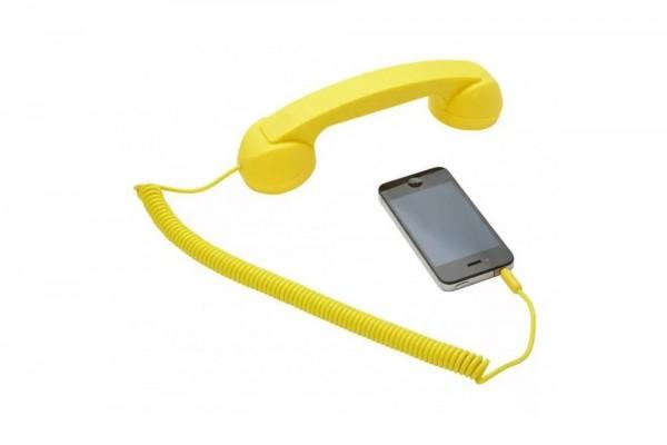 retro trubka dlia smartfona