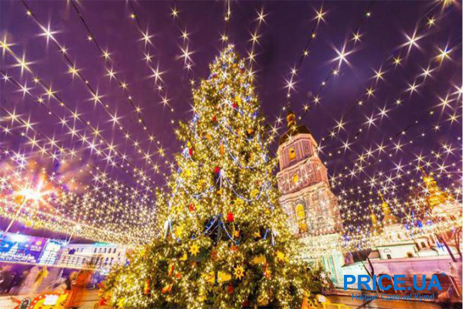 Новый год не дома. Киев