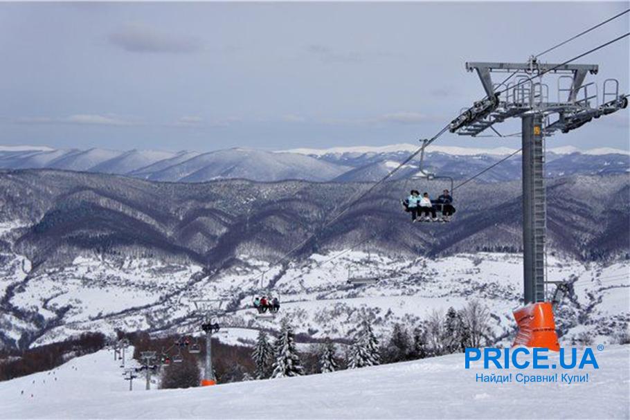 Рейтинг зимних курортов Ураины: топ 5 горнолыжных мест. Красия