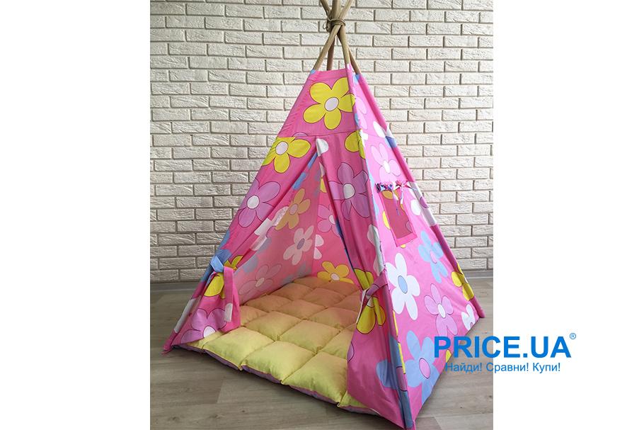 Подарки ребенку на Новый год. Игровая палатка