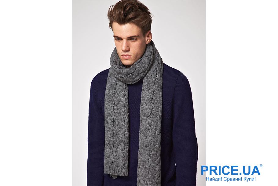 Искусство завязывать шарфы. Одинарный узел