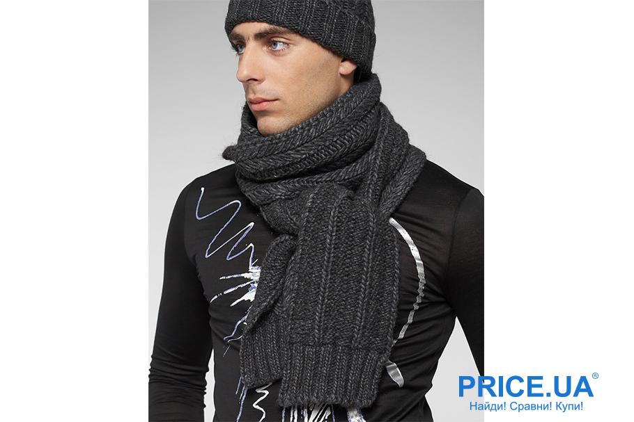 Искусство завязывать шарфы. Двойной узел