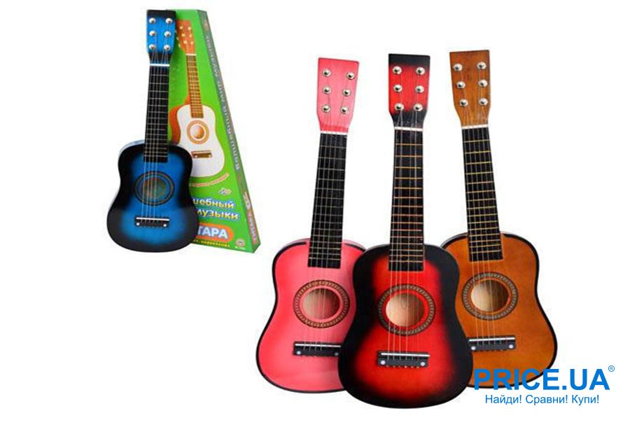 Подарки ребенку на Новый год. Музыкальный инструмент