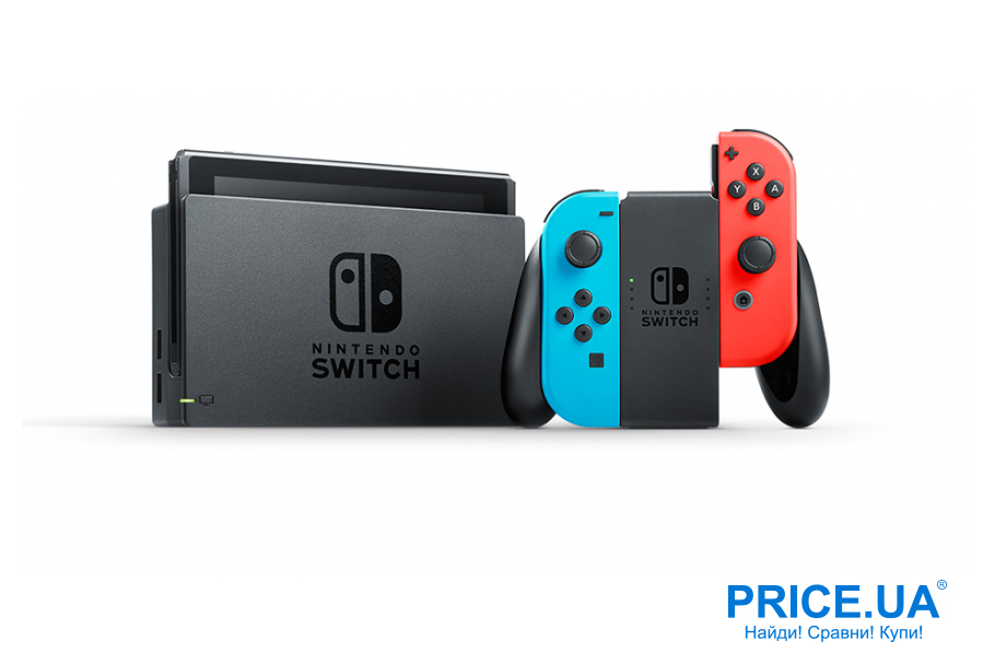Идеи подарков мужу на Новый год. Игровая приставка Nintendo Switch