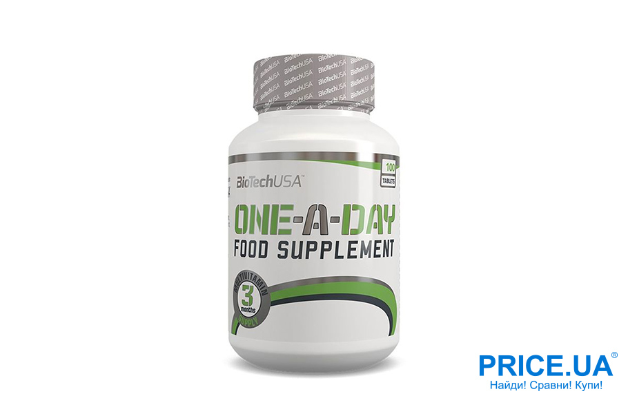 Оптимальные комплексы витаминов для спортсменов. Biotech One-A-Day