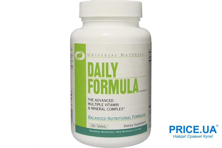 Оптимальные комплексы витаминов для спортсменов. Daily Formula
