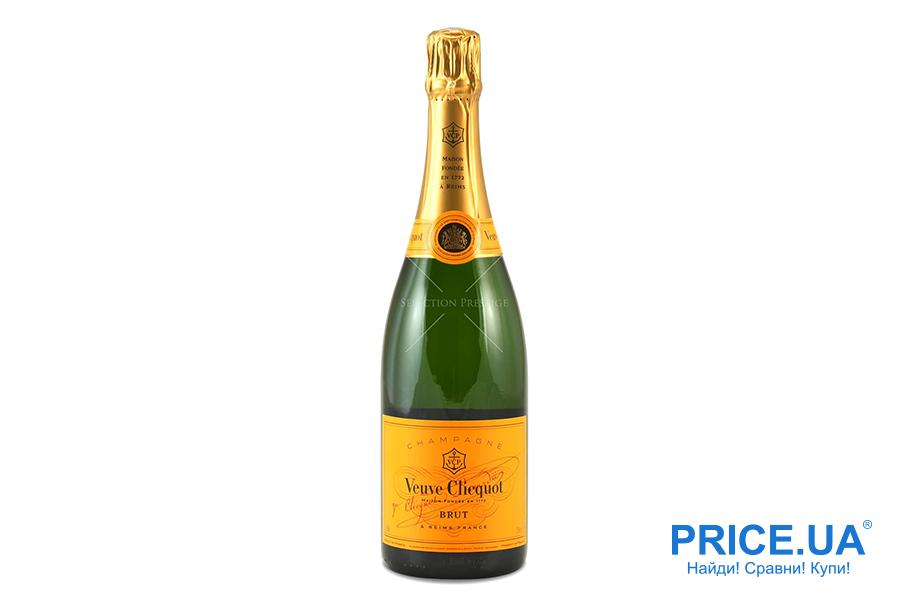 Топ шампанских вин украинского рынка. Veuve Clicquot Ponsandin Brut