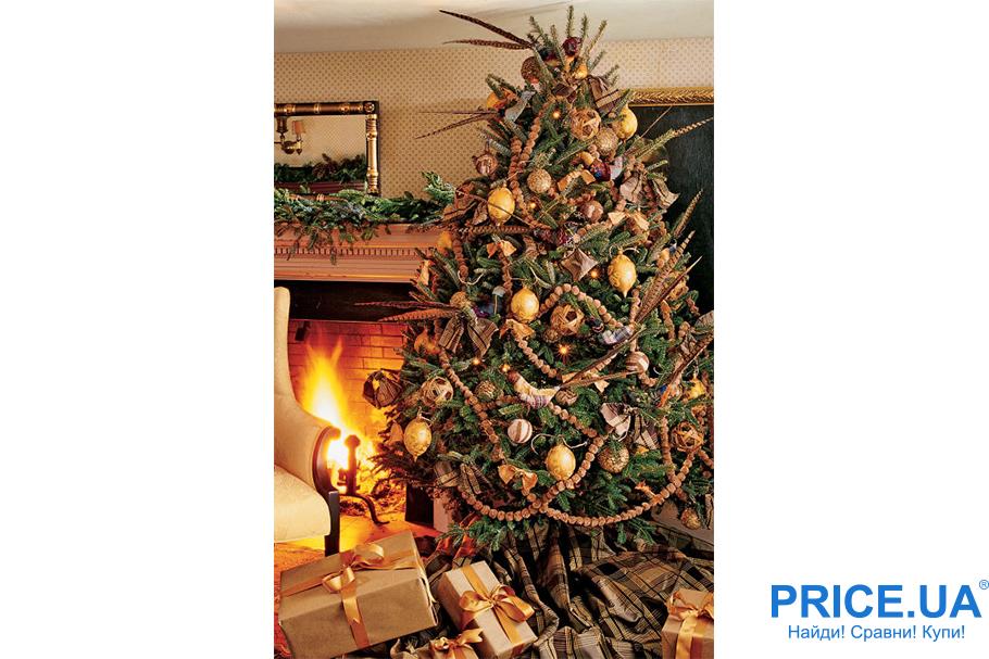 Идеи декора новогодней елки. Экоелка