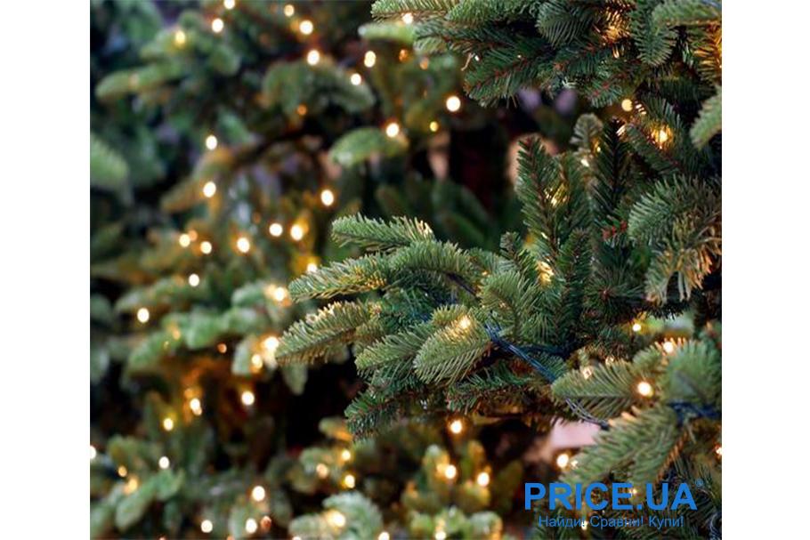 Идеи декора новогодней елки. Мерцающая ель