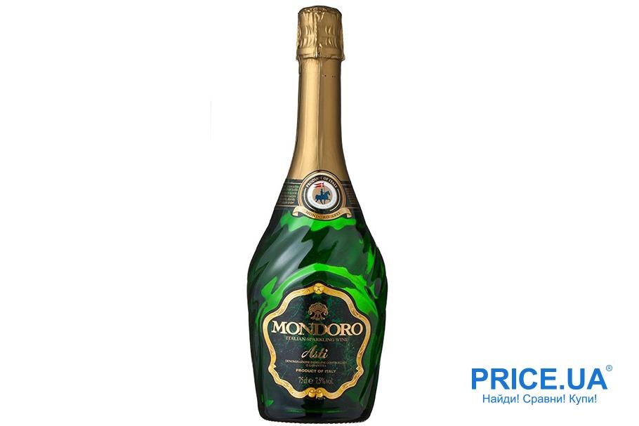 Топ шампанских вин украинского рынка. Asti Mondoro