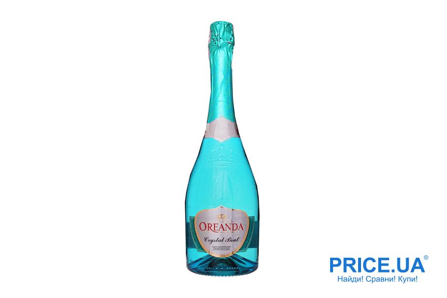 Топ шампанских вин украинского рынка.Oreanda Crystal Brut