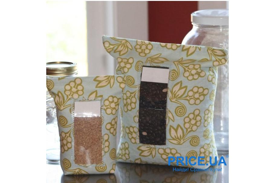 Альтернатива полиэтиленовым пакетам. Тканевые сумочки и мешочки