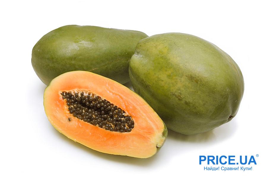 Советы по выбору экзотических фруктов. Папайя