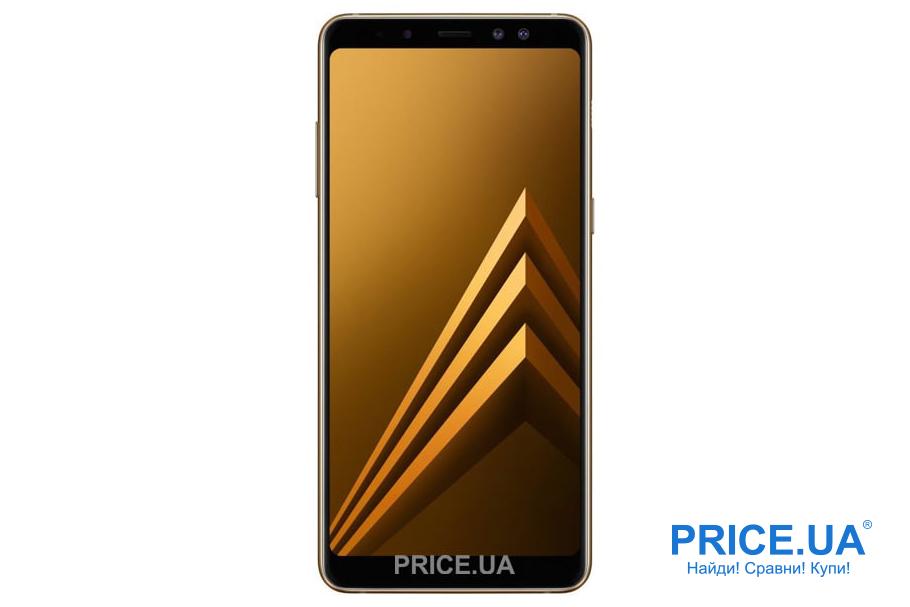 Какой смартфон подарить на Новый год? Samsung Galaxy A8+ (2018) – для супруги