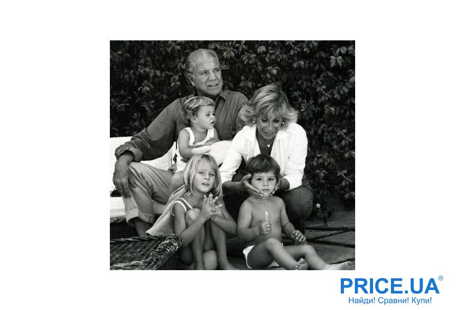 История и успехи Chicco: Пьетро Кателли с семьей