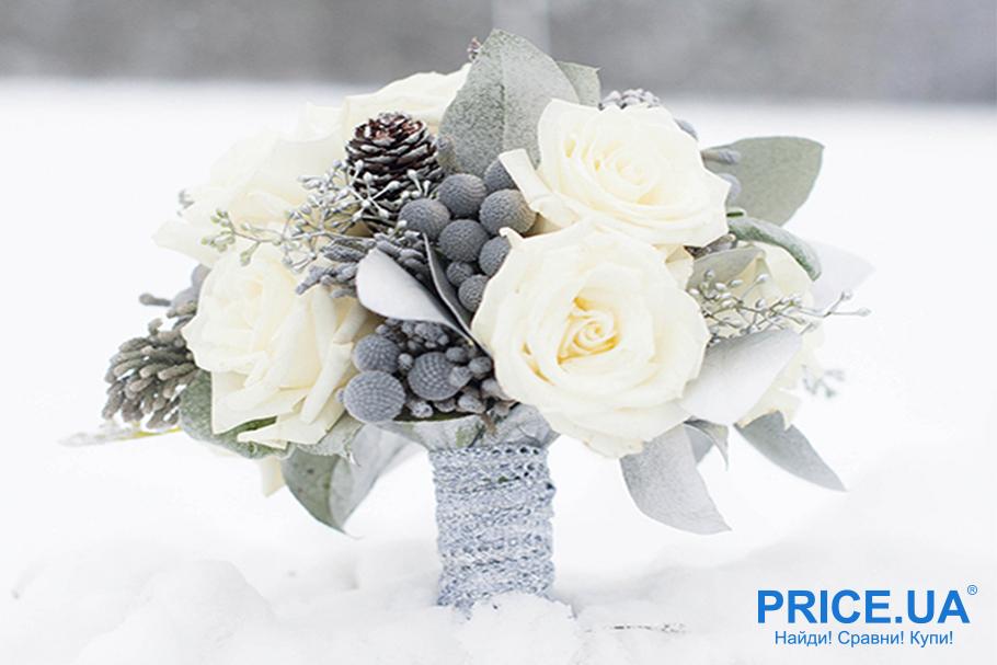 Сделать предложение на День всех влюбленных необычно: букет в снегу