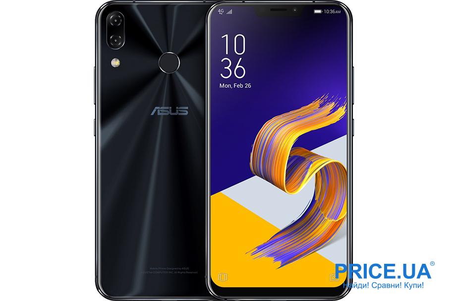 Лучшие смартфоны для гейминга. ASUS ZenFone 5Z ZS620KL 6/64GB