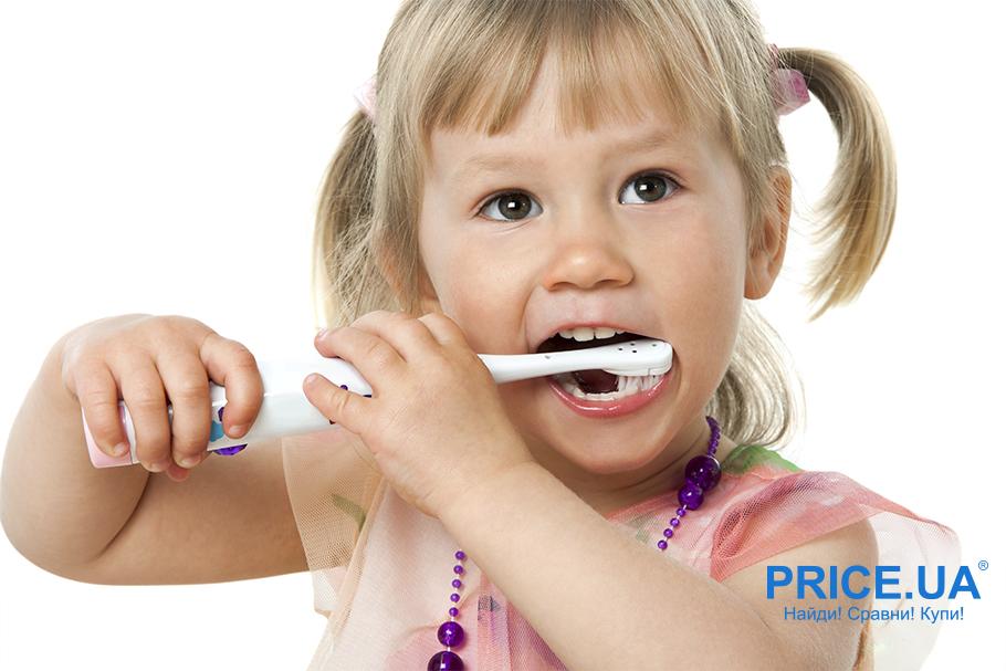 Какой должна быть детская зубная электрощетка?