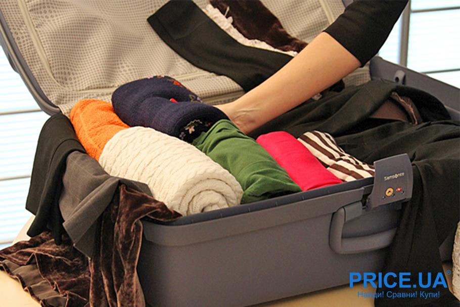 Несколько способов собрать компактно чемодан